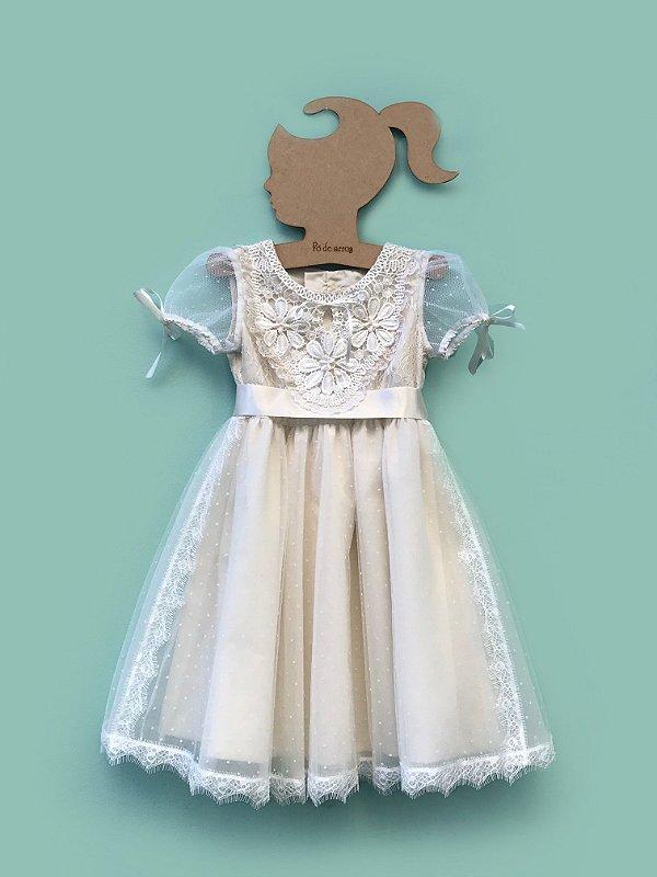 Vestido Bem Casado - Off White