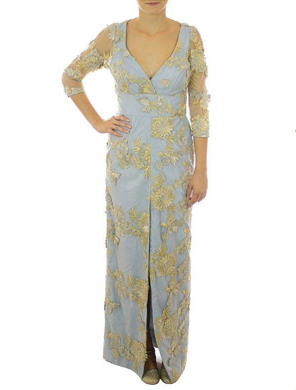 Vestido Ariel - Azul