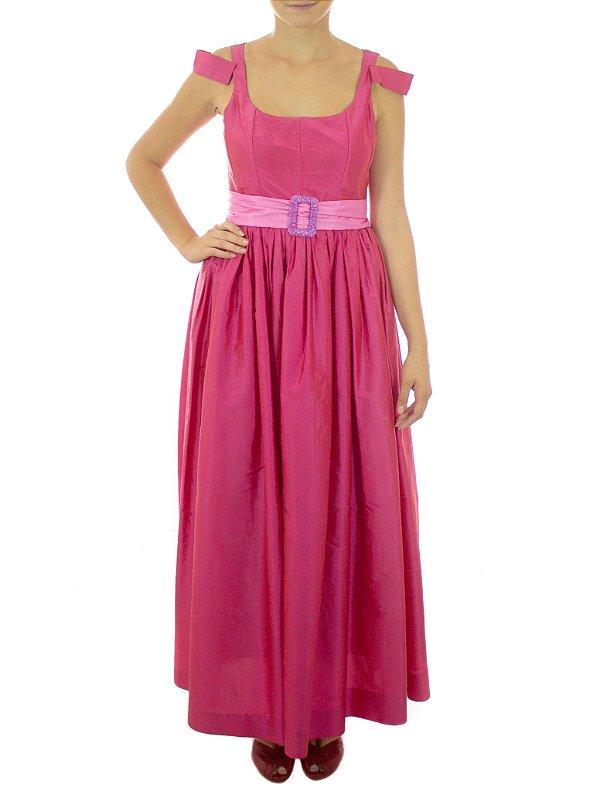 Vestido Bouque Pink - Rosa