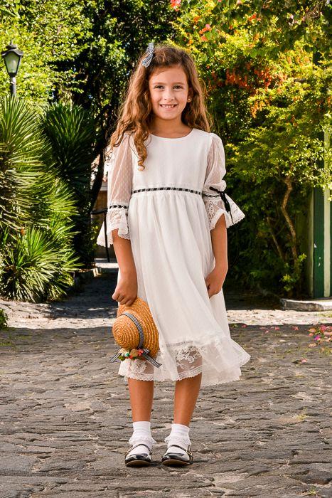 Vestido Gaivota - Off White