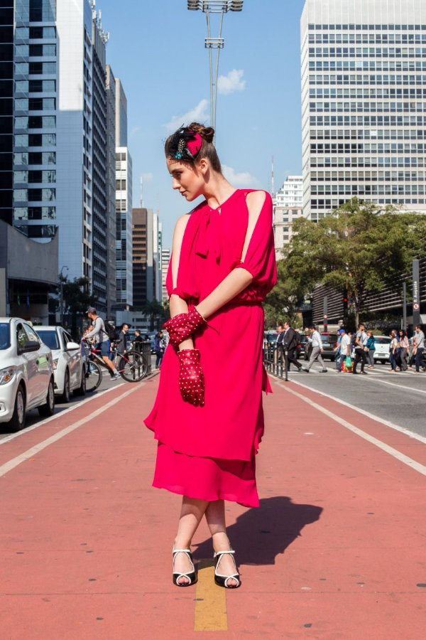 Vestido Carmine - Vermelho