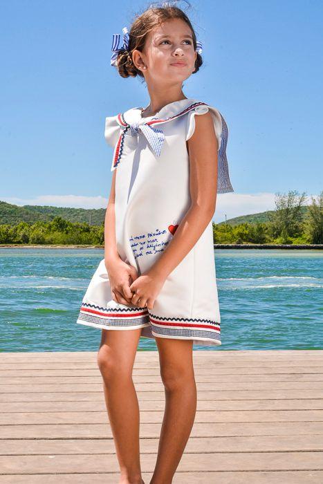 Vestido Marinheira