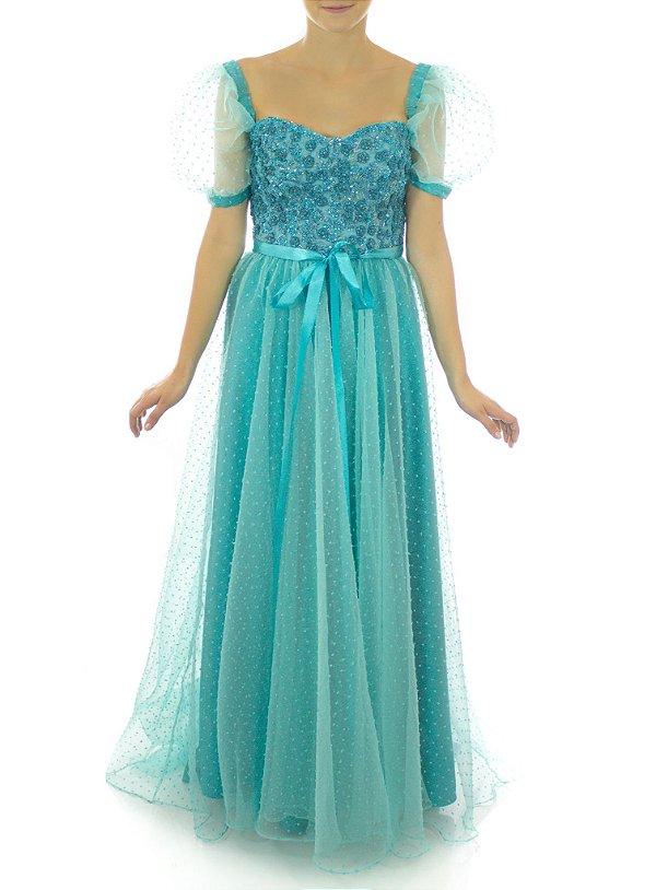 Vestido Cindy - Azul