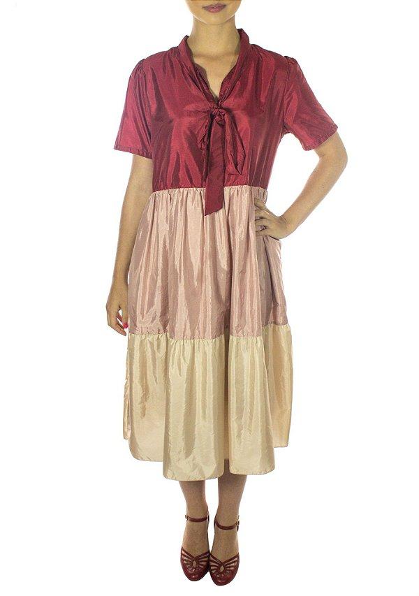 Vestido Hanami - Vermelho