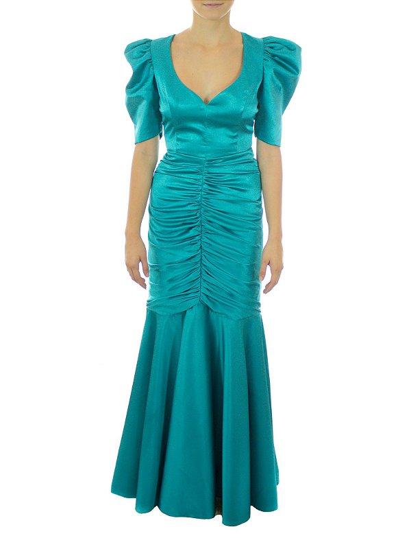 Vestido Kamila - Azul
