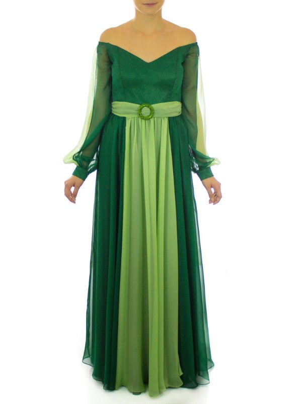 Vestido Lavanda - Verde