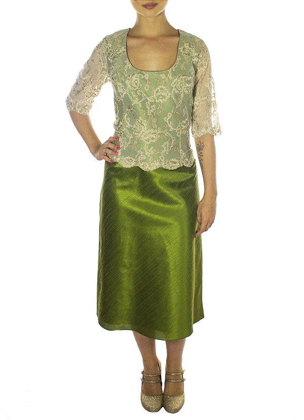 Vestido Mãe da Rua - Verde