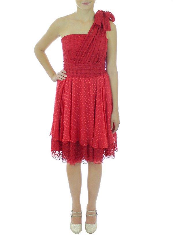Vestido Namorada do Palhaço - Vermelho