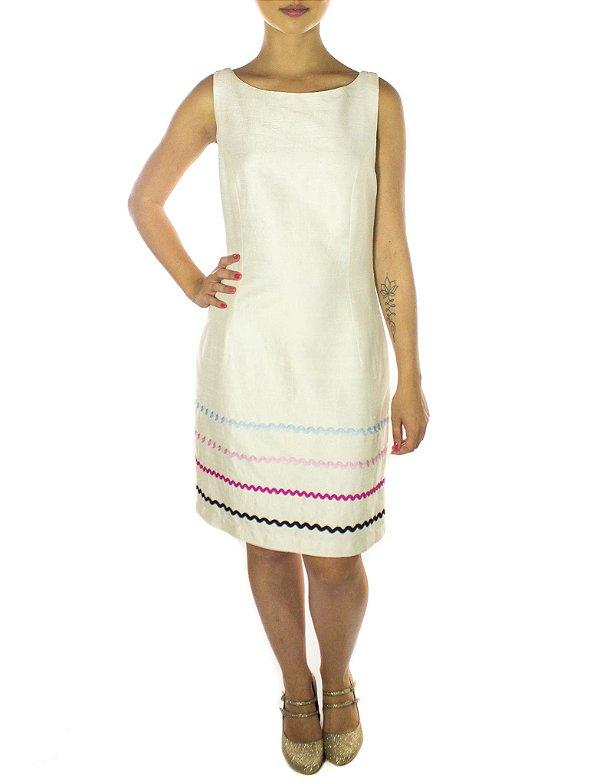 Vestido Patacho - Off White