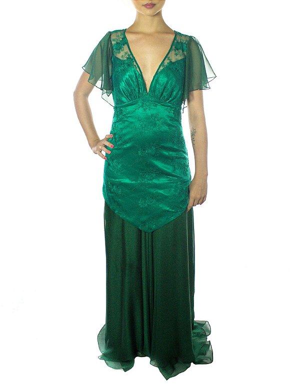Vestido Princesa Merida - Verde