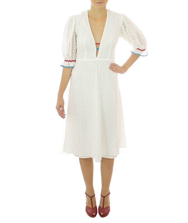 Vestido Tambaba - Branco