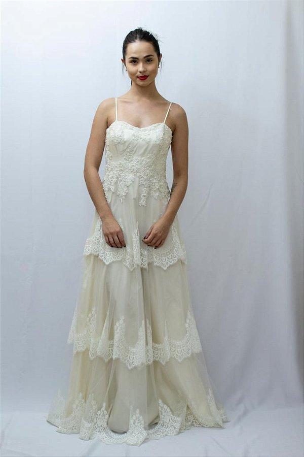 Vestido de Noiva Carola