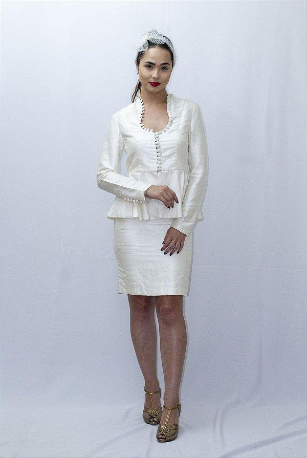 Vestido de Noiva Tailleur Camille