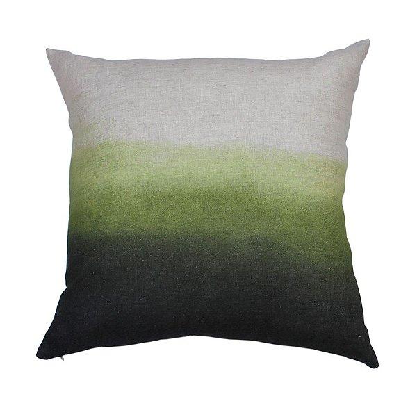 Almofada Horizonte cor verde