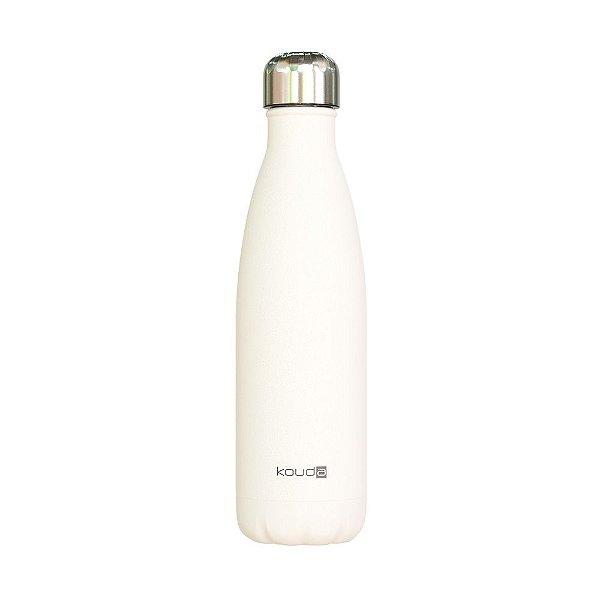 Garrafa Térmica Grey Branca 500ml  - KOUDA