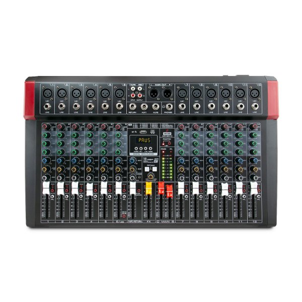 Mesa de som e interface USB Arcano ARC-MIX-12