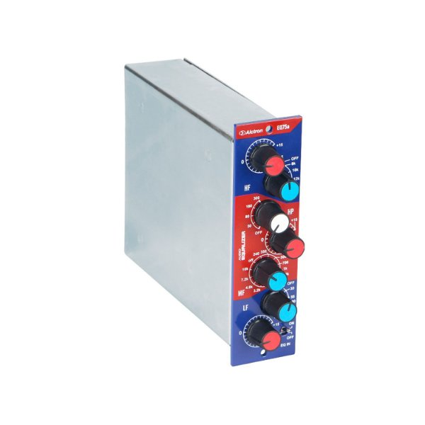 Mini equalizador série 500 Alctron EQ75a acoplável