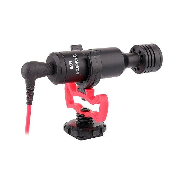 Microfone mini condensador Alctron M588 p/ câmeras