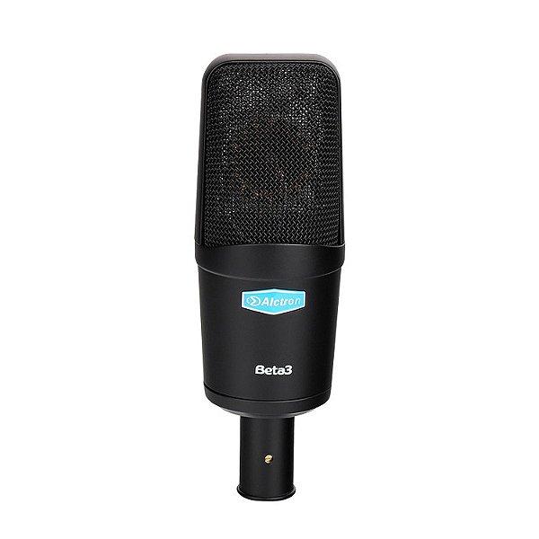 Microfone condensador Alctron Beta3 c/ maleta bag