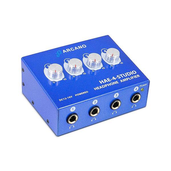 Amplificador de som Arcano HAE-4-STUDIO para fones de ouvido