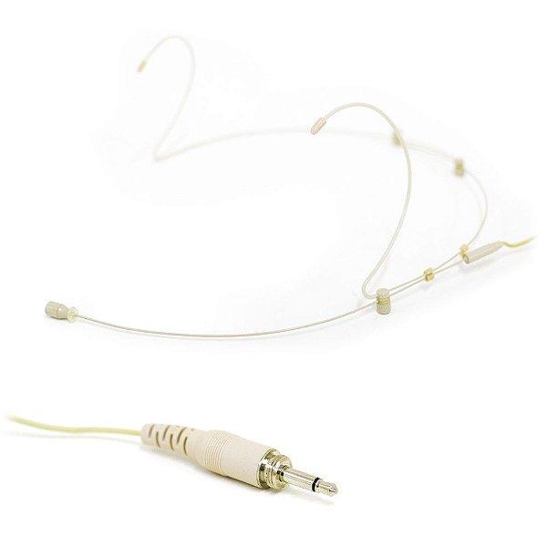 Microfone auricular Arcano AR-WUSA-500 (MONSCR) plug P2 rosca