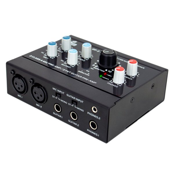 Interface de áudio USB Arcano OT-2 com pre-amp