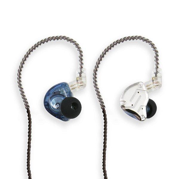 Fone de ouvido in-ear ponto Arcano ARIER-3 profissional 10 drivers