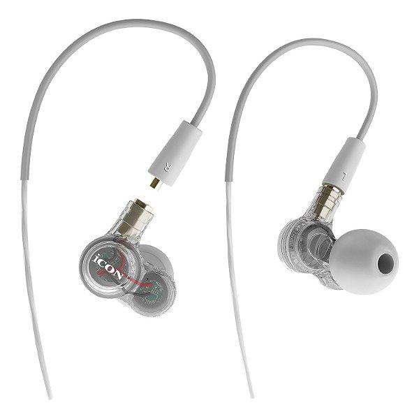 Fone de ouvido in-ear iCON Duo Angel