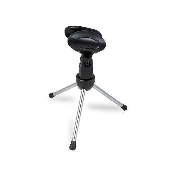 Suporte de microfone mini pedestal Arcano AR-14S tripé de mesa