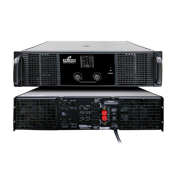Amplificador de potência Arcano PPOWER-INVENCIBLE-10 7400w