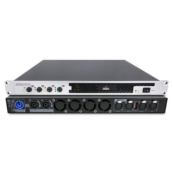 Amplificador de potência digital Arcano WIGRADE-4OCTPLUS 3000w 4 canais