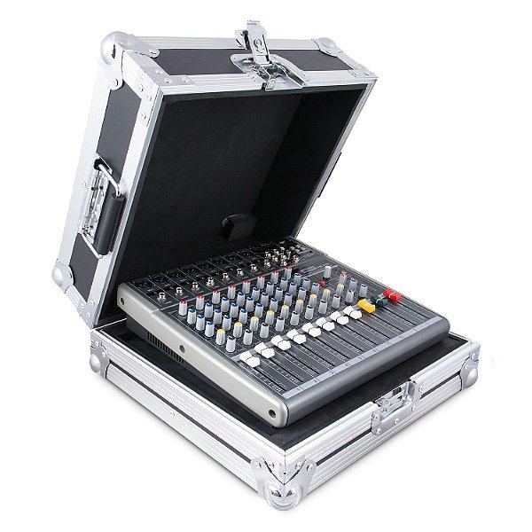 Mesa de som 8 canais Arcano AM-ES8 Metal c/ case