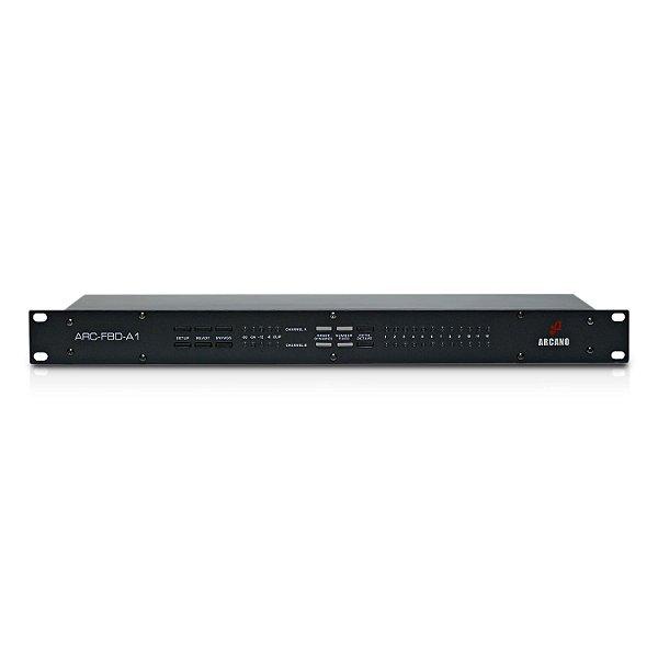 Eliminador de microfonia Arcano ARC-FBD-A1 110v c/ imperfeições