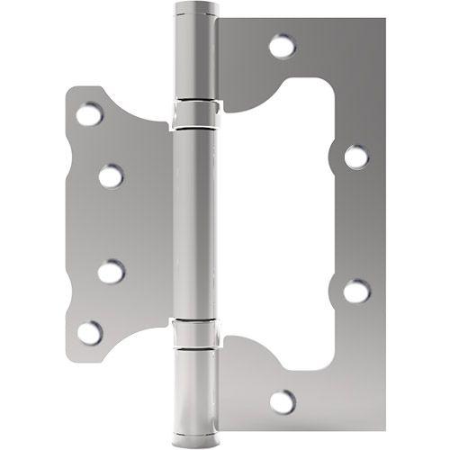"""Dobradiça Sobrepor 4x3"""" Ferro Cromado Caixa c/ 3 un. Synter"""