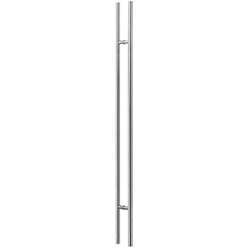 Puxador Duplo 1500mm Inox 304 Polido - Synter, Linha Opala