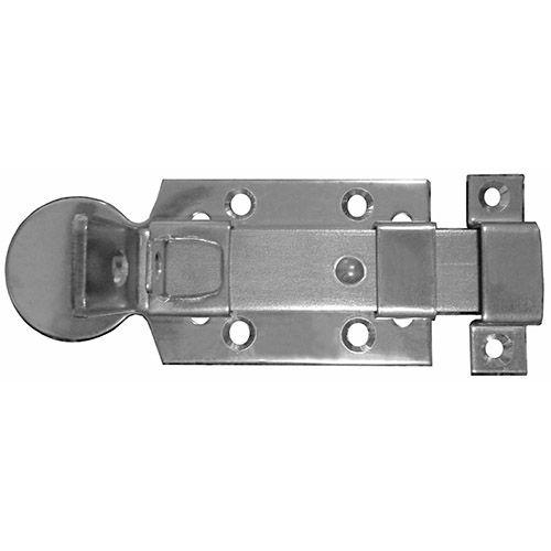 Fecho Porta Cadeado Inox 304 Polido 129.3x47mm - Synter