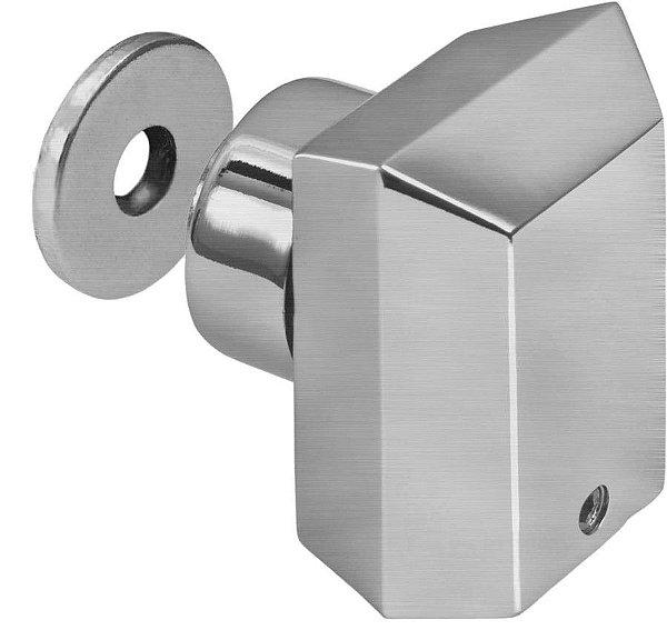 Prendedor de Porta  Magnético Inox 304 Escovado