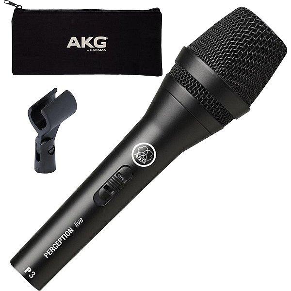 Microfone Perception 3S Preto AKG