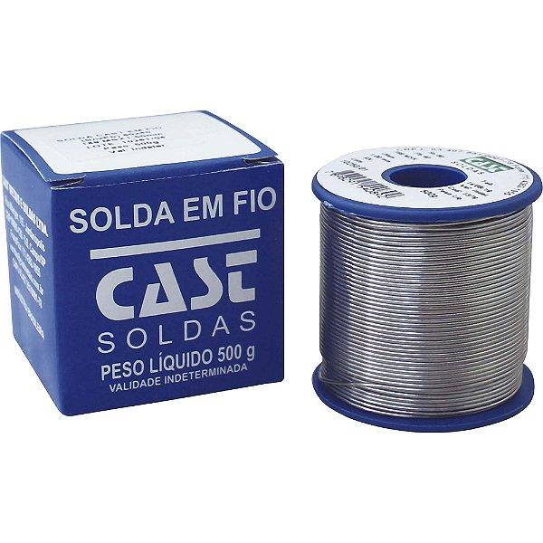 Solda em Fio 189-MSX10 60x40 500g Azul CAST