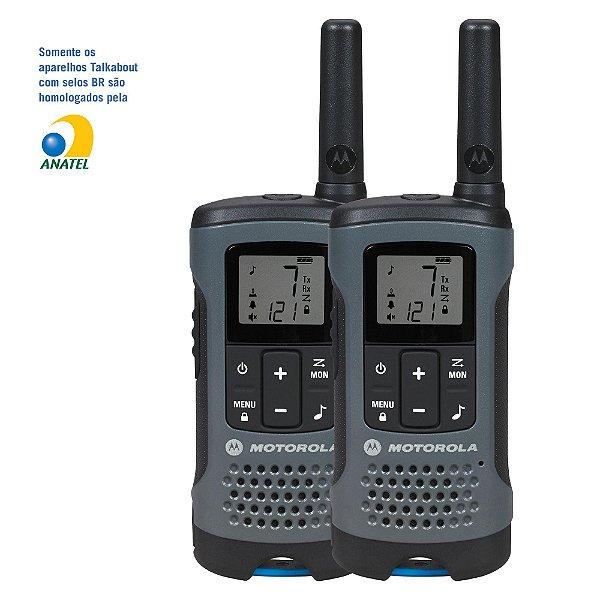 Rádio Comunicador Talkabout 32km T200BR Cinza MOTOROLA - PAR / 2