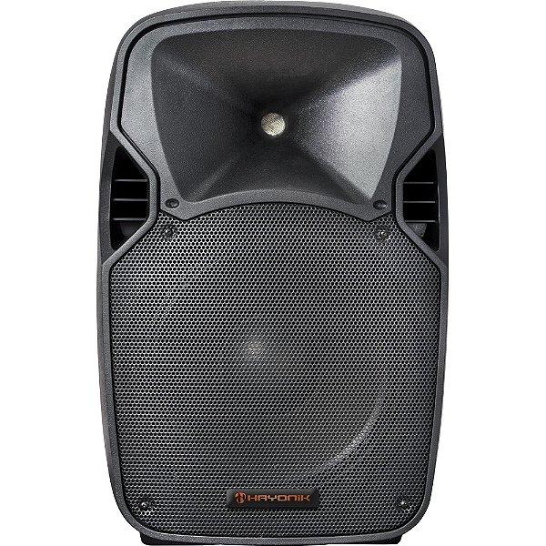 Caixa Acústica Ativa 400W Bluetooth CPA 12400 HAYONIK