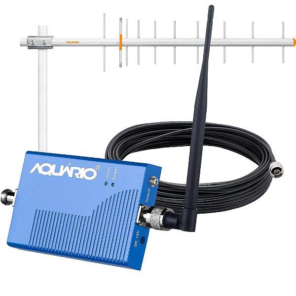 Kit Mini Repetidor de Sinal para Celular 900MHZ RP960 AQUÁRIO