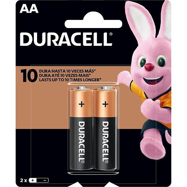 Pilha Alcalina AA MN1500 (Caixa c/24 pilhas)(Cartela c/2) DURACELL - CX / 24
