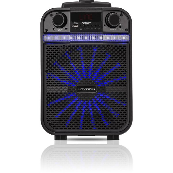 Caixa Multiuso Portátil Bluetooth MicroSD  USB  FM 80W GO POWER 100 HAYONIK