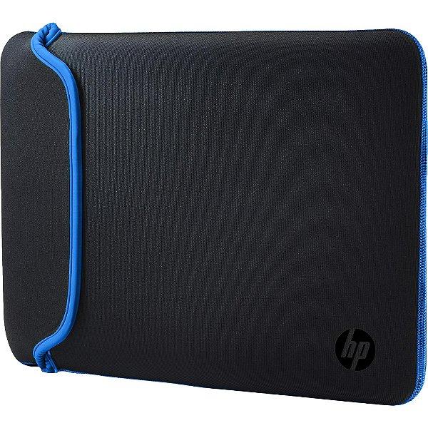 "Sleeve para Notebook 14"" Neoprene Preto/Azul HP"