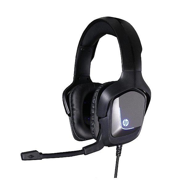 Headset Gamer 7.1 USB H220GS Preto HP