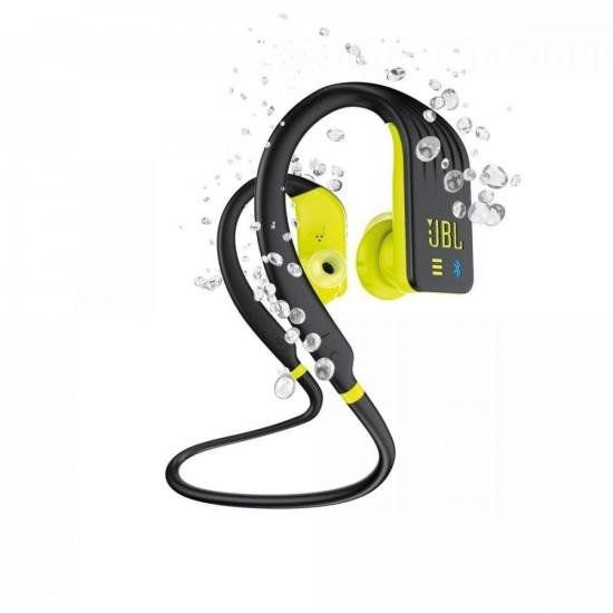 Fone de Ouvido Bluetooth Endurance Dive Preto/Amarelo JBL