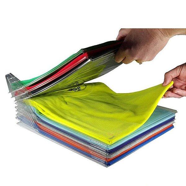 Organizador de Roupas para Camisas e Camisetas tipo Arquivo