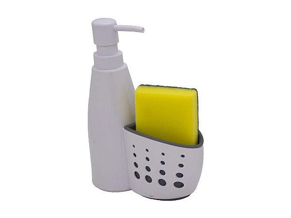 Porta Detergente Higiênico Com Suporte Para Esponjas