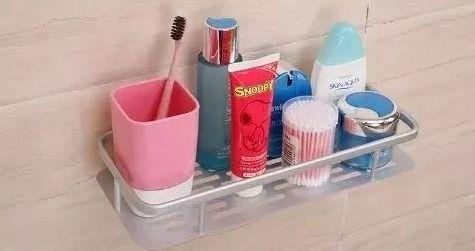 Suporte Shampoo E Sabonete Em Alumínio Fixação C/ventosa